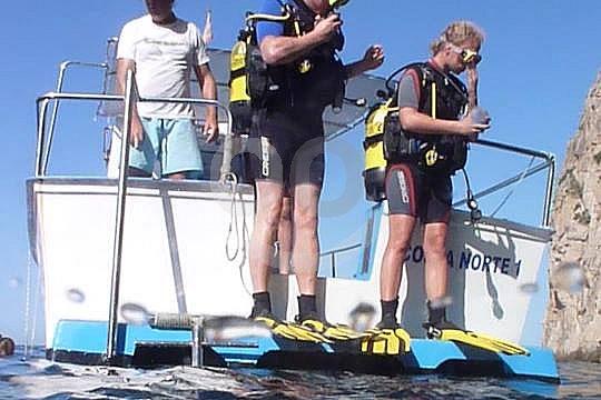 Mallorca Bootstauchgänge