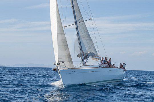 Segelboot in Cala Ratjada