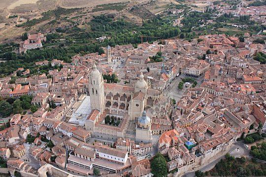 Ballonfahrt über Segovia