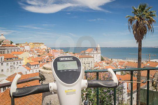 Toller Ausblick auf Lissabon