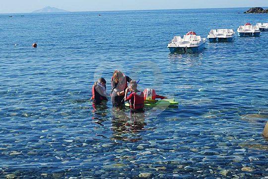 Schnorcheln für Kinder auf Elba in Italien