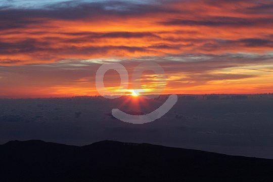 Sonnenaufgang auf dem Pico del Teide