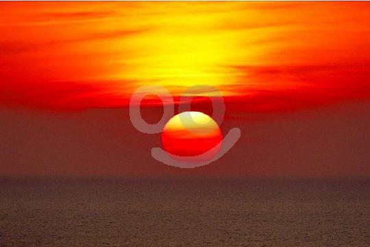 Sonnenuntergang Mallorca Kanu