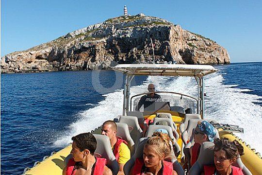 Speedboot Tour nach Cabrera