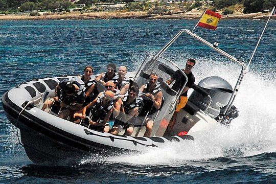 Palmas Küste per Speedboot entdecken