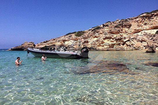 Speedboot Halt Cala Vela