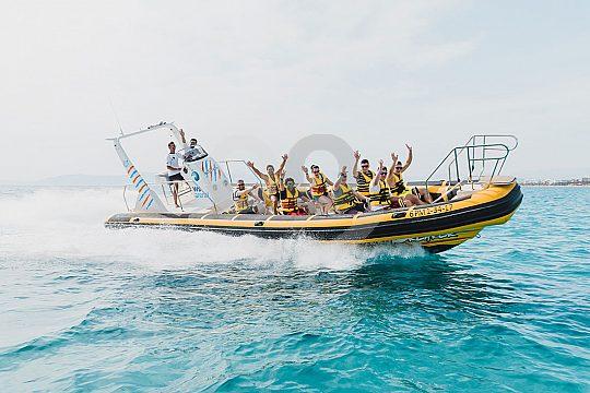 Speedboot fahren Arenal auf Mallorca