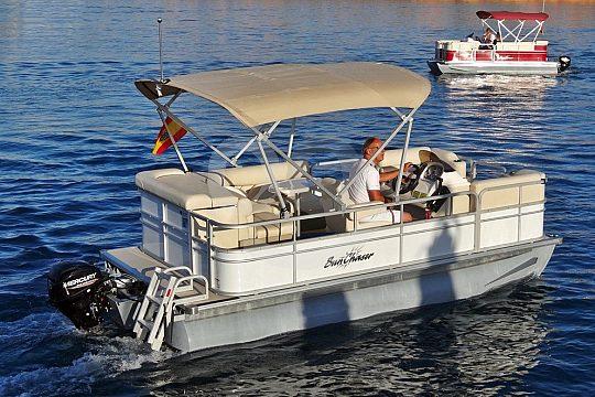 Führerscheinfreies Boot mieten Mallorca Pollensa