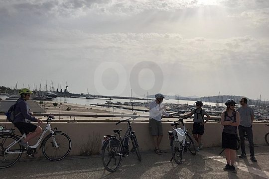 Athen E-Bike Tour zum Sonnenuntergang