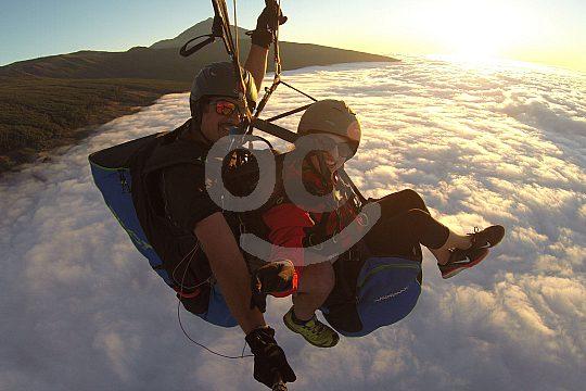 Tandem Paragliding Teneriffa
