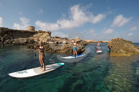 Wassersport auf Ibiza
