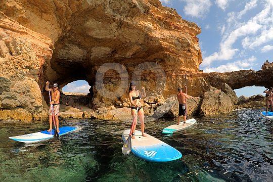 Stand Up Paddling auf Ibiza