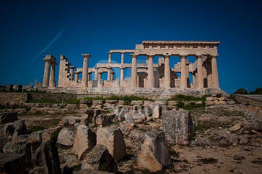 Aphaia-Tempel Ägina Griechenland