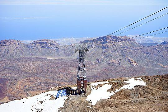 Teneriffa Wandern Teide Seilbahn