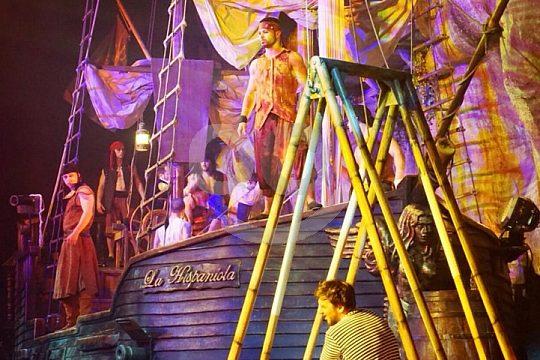 das Piraten-Theater in Magaluf