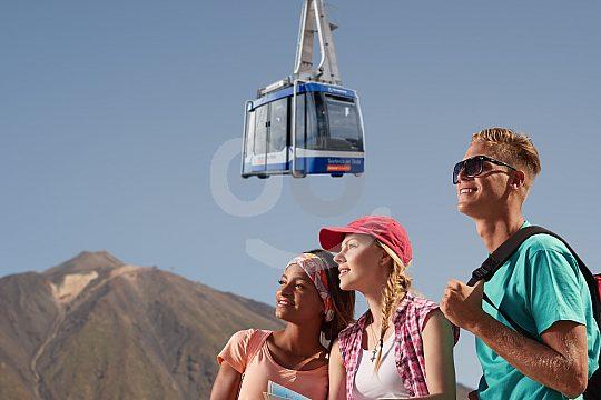 Familien-Tickets für die Teide-Seilbahn