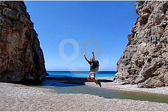 Sa Calobra am Ende der Torrent de Pareis Wanderung auf Mallorca