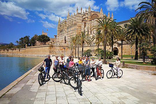Fahrradtour in der Gruppe durch Palma