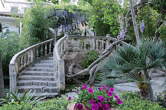 Eingangstreppe Bunyola