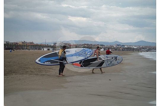 Stand Up Paddle Kurs in Valencia