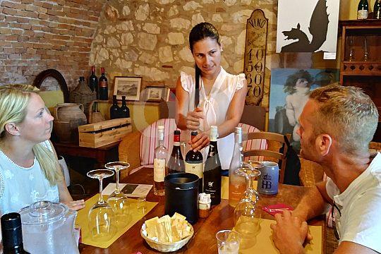 Weinprobe Amarone in Italien