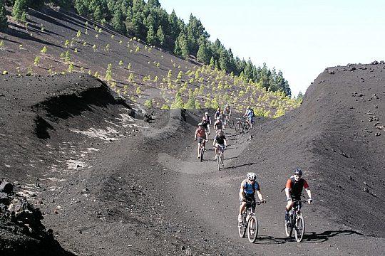 Teneriffa Mountainbike-Tour über Lavafelder