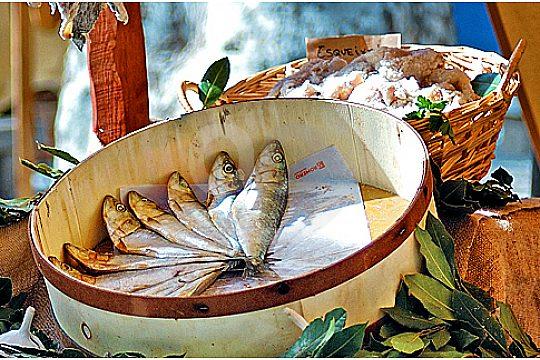 Fisch beim Markt Besuch in Mallorca