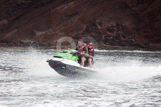 Auf Jet Ski Safari in Teneriffa