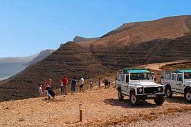 Aussichtspunkt bei der Jeep Safari Lanzarote