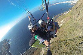 Gleitschrim fliegen in Gran Canaria