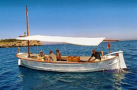 Bootsausflug Mallorca mallorquinische Llaut