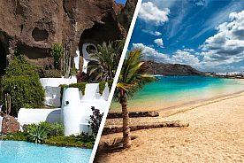 Lanzarote Tagesausflug Lagomar und La Graciosa
