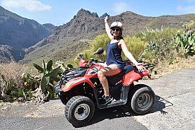Quad Tour auf Teneriffa rund um die Masca-Schlucht