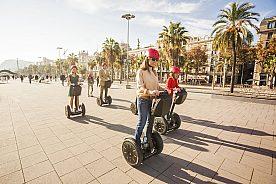 Mit dem Segway durch Barcelona