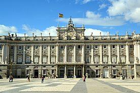 auf Stadtführung in Madrid