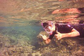 Schnorcheln vor Menorcas Küste