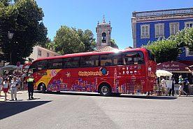 Stadtrundfahrt Sintra mit dem roten Stadtbus