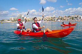 Sitges Doppel-Kayak