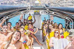 Ausflug mit Boot zum Delfine und Wale beobachten Gran Canaria