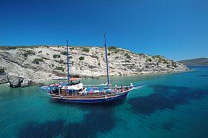 Bootsausflug zu drei verschiedenen Inseln