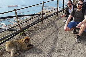 Aufregende Andalusien-Kombi ab Cádiz: private Tour nach Gibraltar und Bolonia