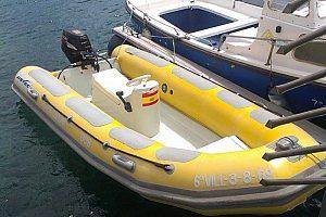 Boot ohne Führerschein ab Chipiona: privater Bootsausflug an der Costa de la Luz