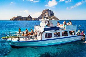 Ibiza Bootstour zum magischen Felsen Es Vedra und Sightseeing in Formentera