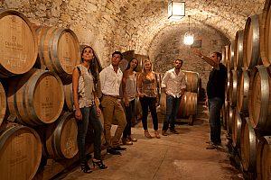 Weinprobe bei Barcelona in Oller del Mas