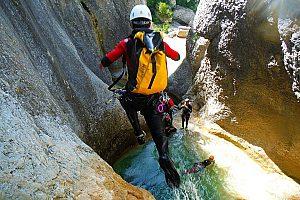 Canyoning Etxebarria nahe Bilbao: aufregendes Klettererlebnis im Baskenland