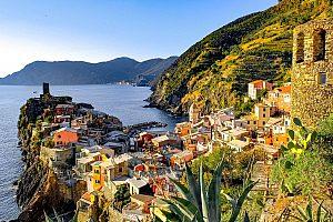Bucht in der Cinque Terre