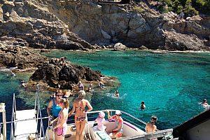 Touren im Glasbodenboot in Mallorca: die Unterwasserwelt im Südwesten entdecken