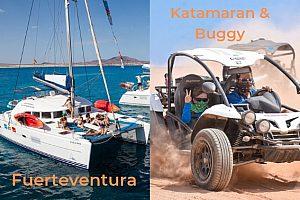 Kombinierte Buggy und Katamaran Tour