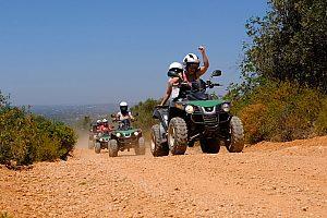 Quad- und Buggytouren alte Straßen in Albufeira