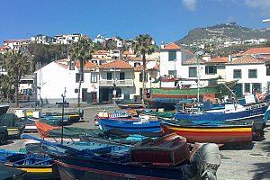Madeira Stadt im Westen